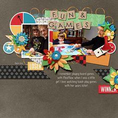Fun and Games - Scrapbook.com
