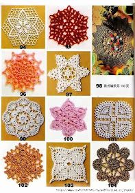 Crochet: BEAUTIFUL MOTIFS