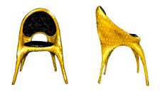 """The Haas Brothers have designed this new """"Donatella Chair"""" for Versace Home"""