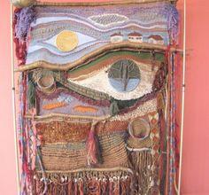 California Artist Wall Weaving Soft Sculpture