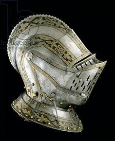 Helmet, southern German, 1560