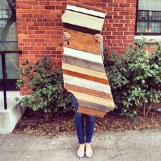 California. Made by Pombo Art. Custom 2ft reclaimed wood ( order: avepom@yahoo.com )