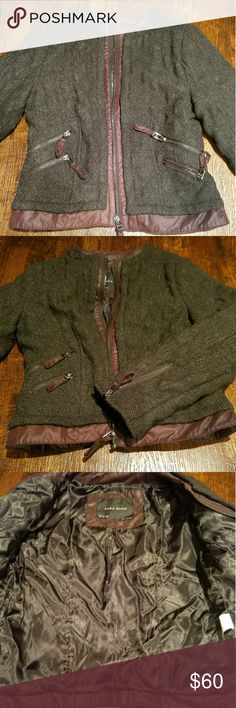 ZARA quilted jacket NWOT Quilted jacket with zips NEW NO TAGS Zara Jackets & Coats