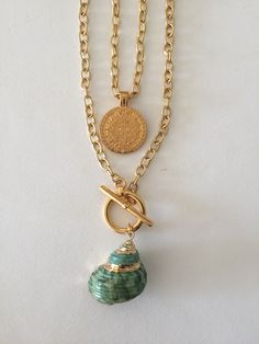 Shells, Plating, Gold Necklace, Pendants, Necklaces, Jewelry, Shelled, Jewellery Making, Jewerly