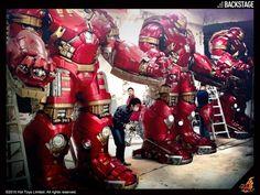 ToyzMag.com » Hot Toys : les coulisses de l'expo Avengers AoU