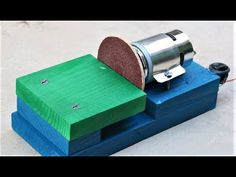How to Make a mini DISK SANDER at Home - Very Easy
