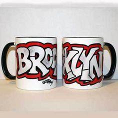 Brooklyn Graffiti Souvenir mug