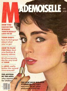 July 1979 cover with Esme Marshall Vintage Magazines, Vintage Ads, Susan Anton, Mademoiselle Magazine, New Fashion, Fashion Beauty, Glamour Magazine, Woody Allen, Vintage Makeup