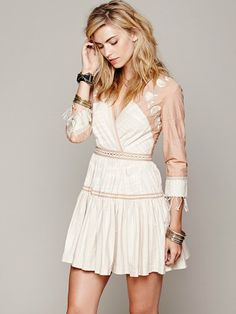 FP New Romantics Lovers Lane Ikat Dress