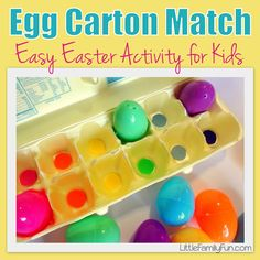 Easy and fun Easter activity for kids! Takes less than 5 minutes to make. :)