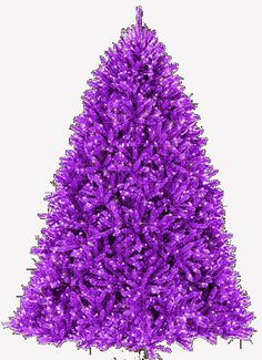 ~` purple christmas `~I would so put this tree up in a hot minute!