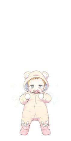 Manga Cute, Cute Anime Boy, Anime Guys, Fall Drawings, Cute Bear Drawings, Anime Computer Wallpaper, Cute Anime Wallpaper, Baby Wallpaper, Manhwa