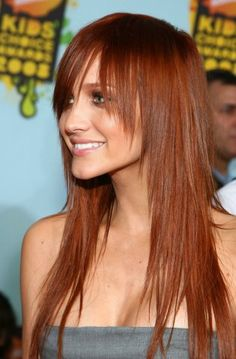 haircut for long straight hair with a slice - Haircuts pictures gallery