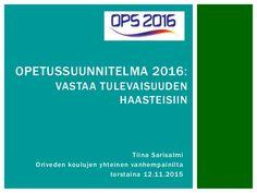OPS 2016 - Mikä muuttuu? Fails, Personal Care, Self Care, Personal Hygiene, Thread Spools