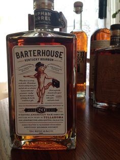 Diageo | Orphan Barrel | Barterhouse Bourbon | 20 yr| 90.2 proof | 86% corn 8% barley 6% rye | $88