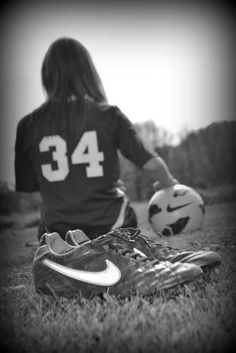 Soccer senior pics 2013 i cant wait untill im a senior :)