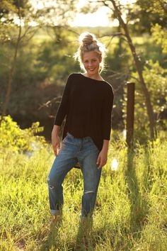Black Dolman Tunic from The Charming Arrow Boutique