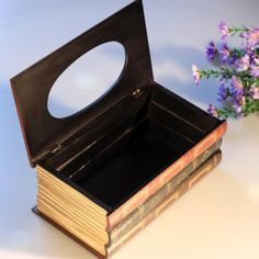 European Style  Wooden Tissue Box Cover  Unique by Dennycraft, $28.83