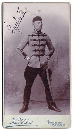 Hussard (Einjährig-Freiwilliger) autrichien, 10° régiment - Friedrich Wilhelm III, König von Preussen - 1898