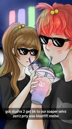 Eyyy, MC and Seven has some swag!