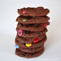 Chocolate chocolate chip cookies - I just made these for the preschool graduation tomorrow. Yumm!