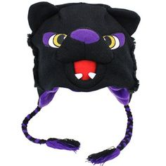 Northern Iowa Panthers Mascot Knit Beanie