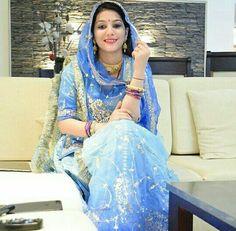 #baisa #raj #hukam #blue #poshak #jwellery #proud #shy #smile #culture #classy #simplicity #grace #ethnic #heritage #RAJPUTANA .. Pinterest :- aditiaadi912
