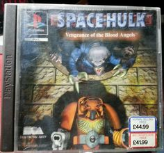 Space Hulk: Vengeance of the Blood Angels #PlayStation 1996) #gamer #videogame #spacehulk #reducedprice #bid #ebay #bowiebargains