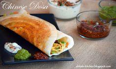 Shital's-Kitchen: Chinese Dosa