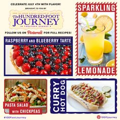 Celebrate July 4th with flavor! Enjoy holiday recipes brought to you by The Hundred-Foot Journey!