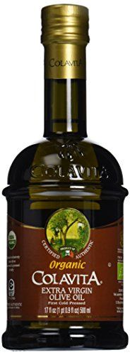 Colavita 100 Organic Extra Virgin Olive Oil 17 oz > Save this wonderfull product: at Cooking oil. No Bake Desserts, Dessert Recipes, Baking Desserts, Cooking Oil, Sweet Notes, Fine Dining, Coconut Milk, Gourmet Recipes, Whiskey Bottle