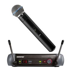 The Shure SM-58 Beta - for its time one of the best UHF microphones to ever hit the market with exceptional clarity & range, its never let me down yet.
