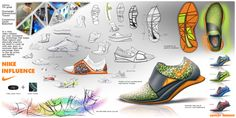 Nike Influence Shoe Concept