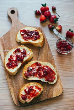 strawberry balsamic jam // brooklyn supper