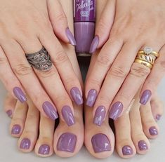50 Most Sexy Dark Nails Design You Should Try in Fall and Winter - Nail Idea . MERNUR hopes these 50 Most Sexy Dark Nails Design You Should Try in Fall and Winter that can help you out. We hope you like this collection. Dark Nails, Purple Nails, Matte Nails, Gel Nails, Pink Purple, Bright Purple, Bright Nails, Purple Art, Acrylic Nails