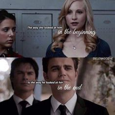 The Vampire Diaries Vampire Diaries The Originals, Vampire Diaries Damon, Vampire Diaries Quotes, Caroline Forbes, Stefan And Caroline, Paul Wesley, Damon Salvatore, Delena, The Cw