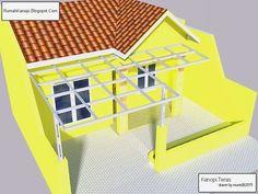 Inilah Kanopi Minimalis Galvalum Untuk Tipe Rumah Kecil