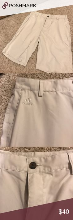 Adidas Tan Golf Shorts Adidas tan golf shorts. Perfect condition. Barely worn. No visible signs of wear. adidas Shorts Athletic