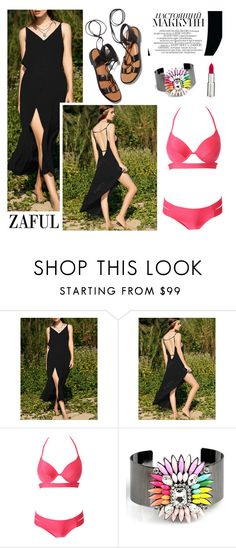 """Zaful 50/4"" by merima-kopic ❤ liked on Polyvore featuring Rosetta Getty, Givenchy and zaful"