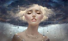 Thunder Rain by Selenada.deviantart.com on @DeviantArt