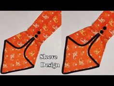 Full Sleeves Design, Sleeves Designs For Dresses, Dress Neck Designs, Sleeve Designs, Blouse Designs, Anime Kitten, Churidar Neck Designs, Sewing Sleeves, Simple Kurti Designs