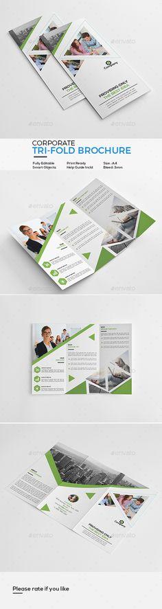 #Corporate #Tri-Fold #Brochure - Corporate Brochures