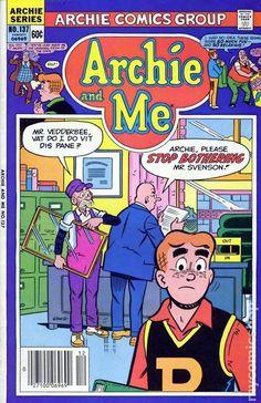 Archie and Me 137, Archie Comic Publications, Inc. https://www.pinterest.com/citygirlpideas/archie/