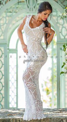 ♥ DIY... Inspiring Crochet Idea ♥ Beautiful Gorgeous Dress