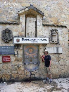 Bodegas Winery Fountain, Irache, Spain, Camino de Santiago, French Way