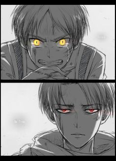 Levi and Eren by Lena_レナ