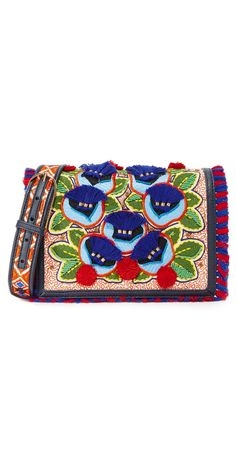 Tory Burch Embroidered Floral Combo Cross Body Bag | SHOPBOP