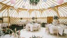 Yorkshire Yurts supply a stunning range of handcrafted yurts and traditional pole marquees for weddings, parties, corporate events and festivals in the UK.