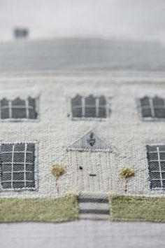 Caroline Zoob - Evening Talk. I'd like to do a machine embroidery pic of my house. This is beautiful.