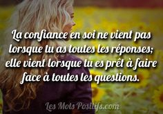 Faire face aux questions Jolie Phrase, Belles Phrases, Magic Words, Truth Quotes, English Quotes, Mantra, Esprit, Quotations, Zen